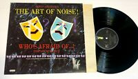 Who's Afraid of the Art of Noise? by The Art of Noise LP Trevor Horn Nm