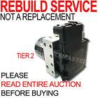 Rebuild for Mercedes Series ABS Module Solenoid Pack Pump Motor Brushes TIER 2