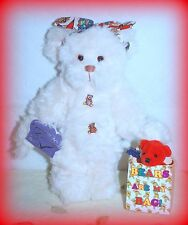 """Annette Funicello *New* 10"""" Elle Bear Collector Teddy Bear Le & Retired"""