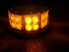 NEW LED AMBER Vehicle Flashing Light 12V-24V