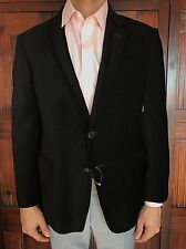 Armani Collezioni Men's Slim Fit Black Blazer Size 42R US 52R EU