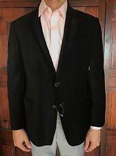 Armani Collezioni Men's Size 42R  Slim Fit Black Blazer