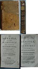 LE BON FILS OU LES MÉMOIRES DU COMTE DE SAMARANDES 1770 RARE