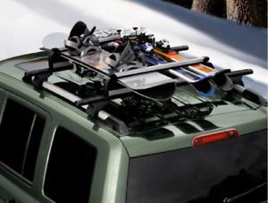 2000-2020 OEM Jeep Dodge Chrysler RAM Roof Rack Winter Sports Carrier TCS92725