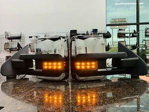 14-18  Silverado / Sierra POWER FOLD Tow Mirrors W/ TEMP SENSOR ( FITS DIESEL )
