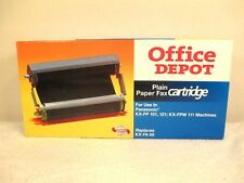 New Office Depot Plain Paper Fax Cartridge Black Replaces Panasonic Kx-Fa65