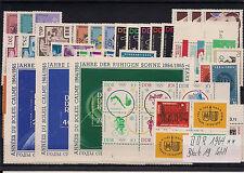DDR Jahrgang 1964 komplett postfrisch ohne Bl.19