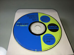 TurboTax Financial Success Suite CD