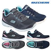 Skechers Womens Comfortable Sporty Flex Appeal 3.0 Steady Trainers Sneaker
