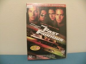 The Fast And The Furious - Collectors Edition - DVD - Region 4