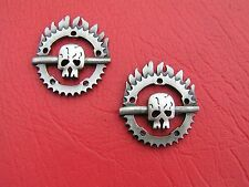 MAD MAX FURY ROAD PAIR Motorcycle Badges *NEW* Bike Emblems suit HARLEY-DAVIDSON
