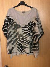 Brand Zara Zebra Print Top Size L