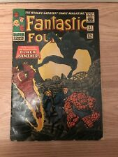 FANTASTIC FOUR #52 KEY 1ST APPEARANCE OF BLACK PANTHER!! SEE THE PICS