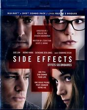 NEW BLU-RAY/DVD COMBO // SIDE EFFECTS // Catherine Zeta-Jones, Channing Tatum,