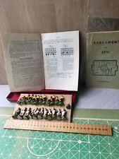 Ancien jeu société football Belge 1946 joueur plâtre farine composition antique