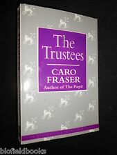Uncorrected Limited 173/300 Proof Copy The Trustees by Caro Fraser 1991-1st RARE