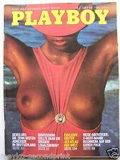 Playboy - D 4/1981, Eleonora Vallone, Silvia Kaiser, David Hamilton