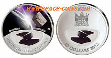 Chassigny METEORITE silver coin! $10 Fiji, only 999 made! Cosmic Fireballs