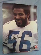 Orig. 1979 Dallas Cowboys Hollywood Henderson 19x25in. Football 7Up Poster NICE