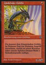 Zündelnder Goblin / Goblin Firestarter | EX | Portal Second Age | GER | Magic