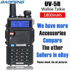 Baofeng UV-5R Dual Band Walkie Talkie Long Range Radio 2-Way USB Rechargeable UK