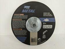 9 Norton Metal Grinding Wheel Disc 9x14x58 11 6600 Rpm Dc914hm Type 27