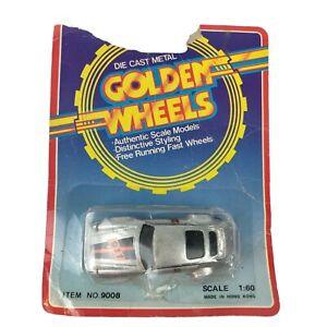VTG RARE Golden Wheels Porsche P-911 Turbo Gray Silver Car Hong Kong Item 9008