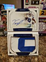 🔥TONY POLLARD NT ROOKIE 2 COLOR JUMBO PATCH ON CARD AUTO /99 RPA COWBOYS🔥