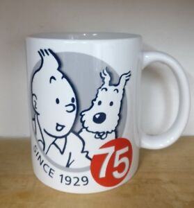 Tin Tin & Snowy Mugs Polymer or Ceramic Personalised/Unmarked Ideal Gift UK Shop