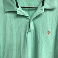 🌴Ralph Lauren Golf Men's Short Sleeve Polo Shirt Large L Green🌴 Free Ship