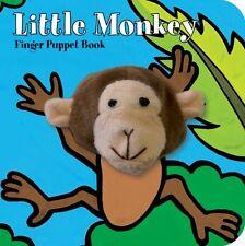 Little Monkey: Finger Puppet Book (Little Finger P