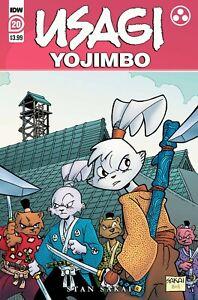 Usagi Yojimbo #20 Cover A 1st print 1st appearance Yukichi NM