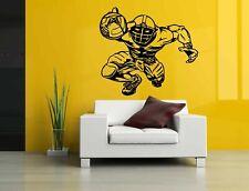 Wall Vinyl Sticker Decals Decor Room Design American Football Player bo1712