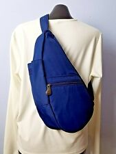 Vintage AMERIBAG Blue Nylon Sling Purse Bag Backpack Travel Bag