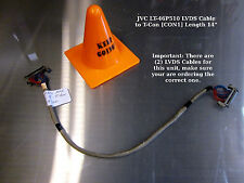 """JVC LT-46P510 LVDS Cable to T-Con [CON1] Length 14"""" - 355 mm"""