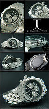 HOCHWERTIGER HERREN CHRONOGRAPH UHR GLOBEMASTER  A.D.H.JACQUES CANTANI BOX-PAPPI