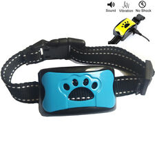 Rechargeable Anti Bark Collar Stop Dog Barking S/M/L Sound&Vibration Waterproof,