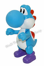 Super Mario Brothers Blue Yoshi Action Figure Plastic Toy 11CM