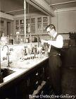 U.S. Treasury Revenuer Measuring Alcohol Contenet, Prohibition -1920 Photo Print