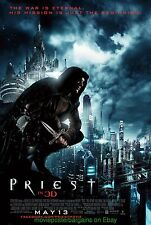 PRIEST MOVIE POSTER DS GLOSSY ! 27x40  PAUL BETTANY