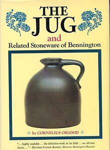 Stoneware of Bennington - Shapes Types Marks incl. Crocks Jugs / Scarce Book