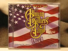 ALLMAN BROTHERS BAND - LIVE CD NUOVO SIGILLATO NEW SEALED