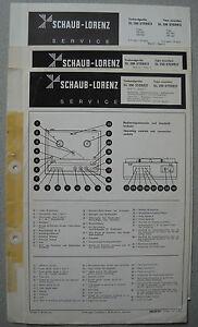ITT/Schaub Lorenz SL 200 220 Stereo Service Manual