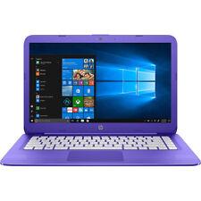 """Hewlett Packard STREAM 4-ax050nr 4GB/64GB 14"""" LCD Purple Laptop"""