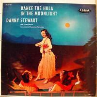 DANNY STEWART dance the hula in the moonlight LP VG+ CRL 57122 Vinyl Record