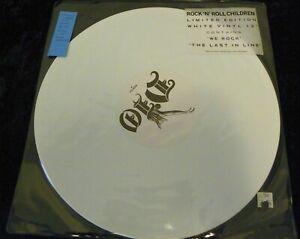 """DIO Rock 'n' Roll Children LIMITED EDITION 12"""" White Vinyl ORIG UNPLAYED metal"""