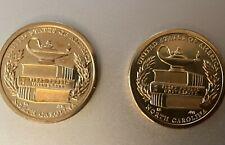 USA: American Innovation 1 Dollar Coin 2021, North Carolina, Set aus Mint D + P