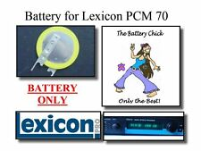 Battery for Lexicon PCM 70  - Internal Backup Replacement Battery
