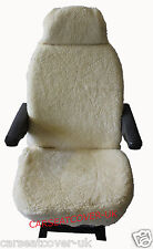 PEUGEOT BOXER LUXURY MOTORHOME SEAT COVERS FAUX SHEEPSKIN
