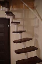 MINI plus -  Space Saver Spiral ,Loft Staircase Kit - WHITE Metal-Work ,.